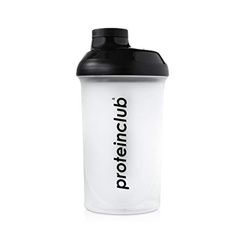Eiwit eiwitshaker Fitness Mixer 500ml - BPA vrij - met zeef - lekvrij - crèmige shakes zonder klompen - eiwitclub