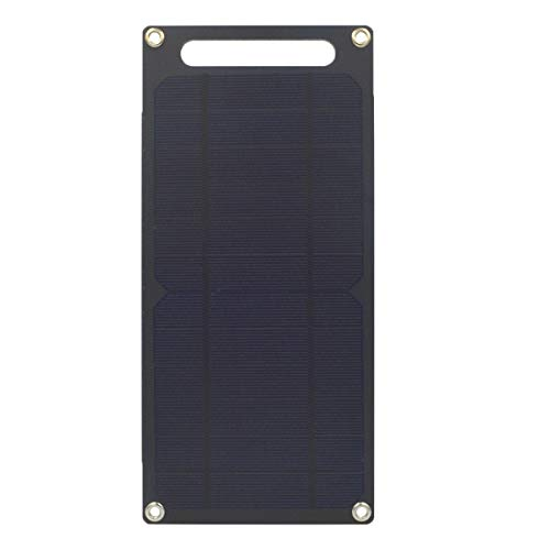 GNY Cargador Solar Kit de Panel Solar monocristalino semiacristalino Panel Solar portátil de 18 V 50W con Cargador de Coche para Acampar al Aire Libre