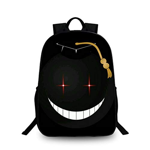 WANHONGYUE Assassination Classroom Anime Impression d'image Backpack Cartable Sac d'école Étudiant Sac à Dos de Loisirs /24