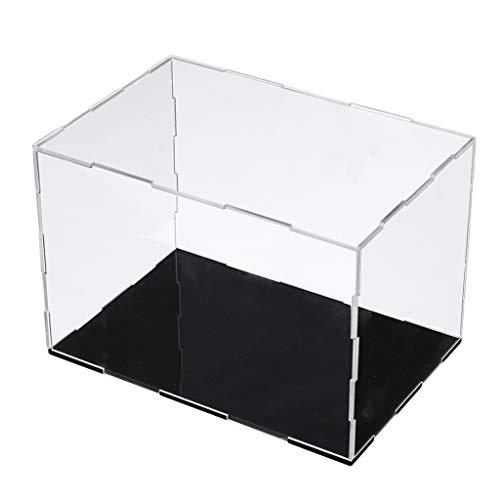Generic Acryl Vitrine Showcase Display Case Schaukasten Box Einzelvitrine Präsentationsbox - 31x15x13cm