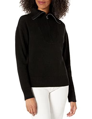 The Drop Women's Kai Half Zip Sweater