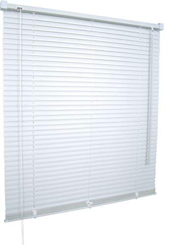 Unbekannt SUNLINE Jalousie - Kunststoff (KS.25), Wand- und Deckenmontage, Farbe weiß, (B x H) 120 x 160 cm