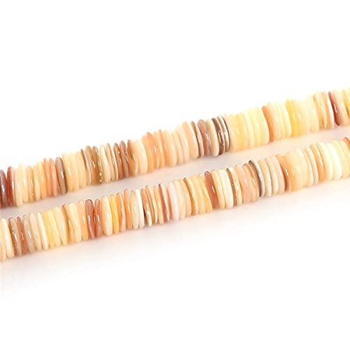 Fabricación de joyas Cuentas de cáscara de agua dulce de 9 mm DIY Hallazgos de joyería de bricolaje Beads FreeForm Forma Shell Chip Flow Beads para la fabricación de joyas para pulseras de bricolaje j