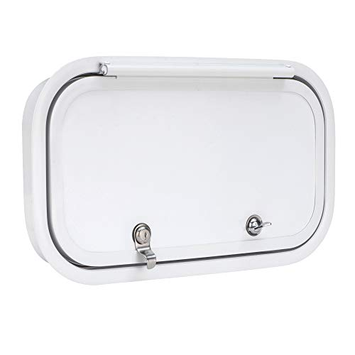 """RecPro RV Baggage Door 18.5"""" Wide x 10"""" High with Rounded Corners for RVs