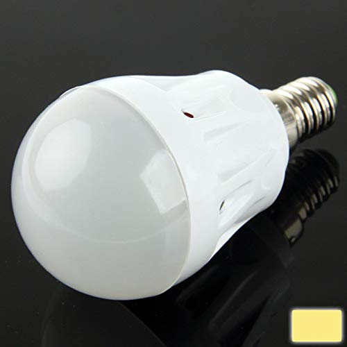 Para la bombilla eléctrica Ssl E14 3W cálido blanco 10 SMD LED...