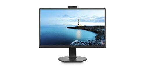 Philips 272B7QUBHEB - 27 Zoll QHD USB-C Docking Monitor, Webcam, höhenverstellbar (2560x1440, 60 Hz, HDMI, DisplayPort, USB-C, RJ45, USB Hub) schwarz