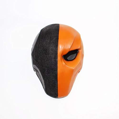 Deathstroke Helm Pfeil Saison 5 Cosplay Helm Voller Gesicht Maske Harz Cosplay Kostüm Zubehör Requisiten Für Maskerade Hallowee