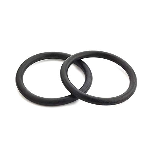 10pcs O Ring Seal Gasket Thickness 3mm Oil Resistance Washer, Black, Od 14Mm Thickness 3Mm