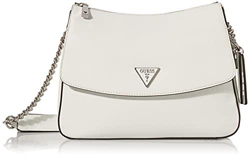 Guess Handbag, bolso para Mujer, Blanco, Talla única