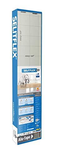 SELITFLEX 3 mm Parkett- und Laminatunterlage, 2 in 1