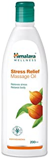 Himalaya Herbals Stress Relief Massage Oil, 200ml