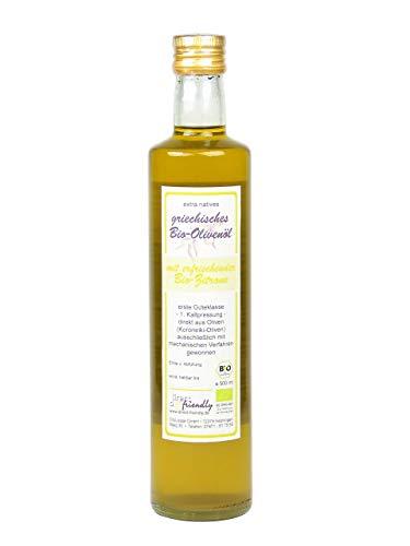 direct&friendly Bio Olivenöl Griechenland mit Bio Zitrone (500 ML)