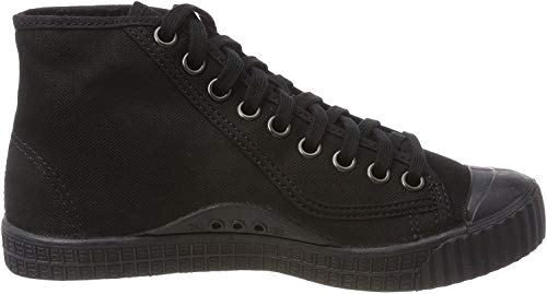 G-STAR RAW Damen Rovulc Denim Mid Sneakers Sneaker, Schwarz (Black (Black 990) 990), 38 EU