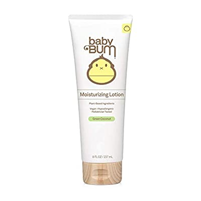 Baby Bum Everyday Lotion | Moisturizing Baby Body Lotion for Sensitive Skin with Shea and Cocoa Butter| Natural Fragrance | Gluten Free and Vegan | 8 FL OZ from L.A. Fragrances, Inc -- Dropship