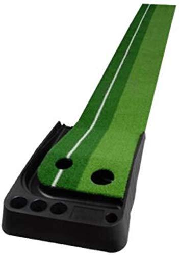 Alfombras de Práctica para Golf Golf Putting Mat, Interior al Aire Libre Juego de Golf Ball Auto Return Rementry Poner Mat, práctica portátil Mini Golf Trainer Putting ZSMFCD