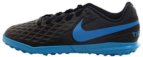 Nike Legend 8 Club TF, Zapatillas de Fútbol Unisex Adulto, Negro (Black/Blue Hero 004), 37.5 EU