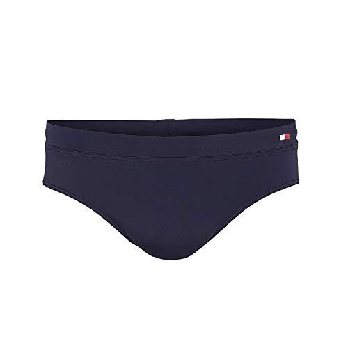Tommy Hilfiger Knit Brief Bañador, Azul, X-Large (Talla del Fabricante:) para Hombre