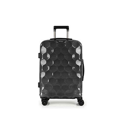 Gabol - Air | Maletas de Viaje Medianas Rigidas de 44 x 65 x 24 cm con Capacidad para 54 L de Color Negro