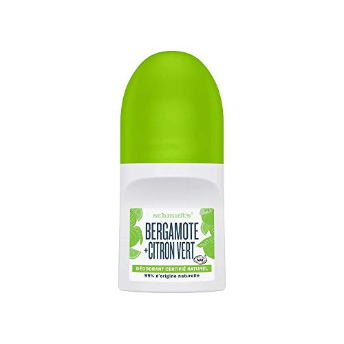 Schmidt s - Desodorante Roll On Bergamota y Lima Vegano - 50 ml