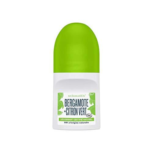 Schmidt's - Desodorante Roll On Bergamota y Lima Vegano - 50 ml