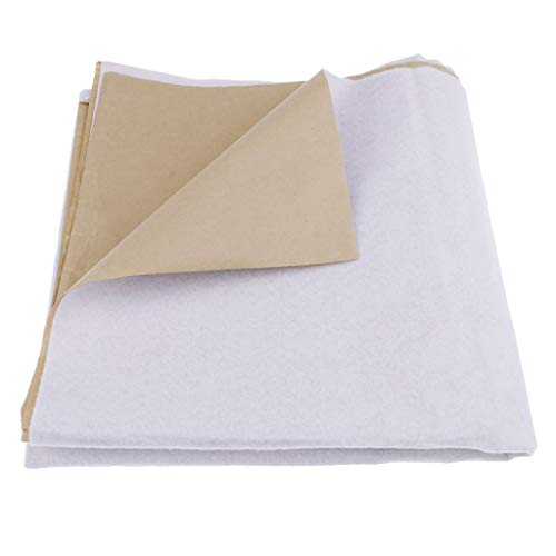 Inzopo 200 g autoadhesivo de algodón para tapicería, relleno de guata para...