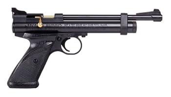 Crosman 2240 Bolt Action .22-Caliber CO2-Powered Pellet Air Pistol Black