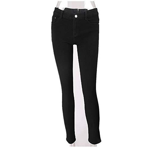 VENMO Frauen Bleistift Stretch Denim Skinny Jeans Hose mit hoher Taille Zurück Reißverschluss Skinny Jeanshose Bleistift Jeans Stretch Denim