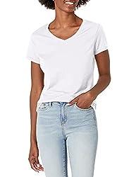 powerful Hanes X-Temp Ladies V-neck T-shirt, Size XX-L