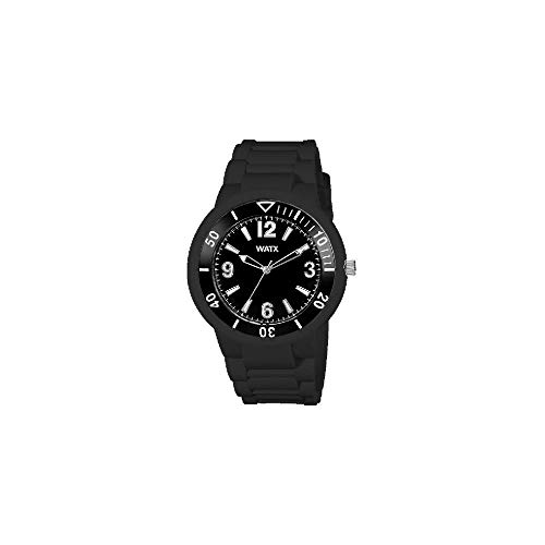 Watx Reloj analogico para Hombre de Cuarzo con Correa en Caucho RWA1300N