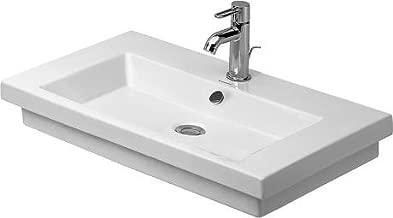 Duravit 4917000001 2nd Floor Washbasin 27 1/2, 1 Hole Tapping, White