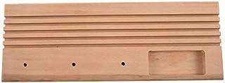 YUQIYU Hardwood Quiltning Patchwork Ruler Rack med Spool försäljning och utrymme för att lagra Pins Tacks Spolar (Color : ...