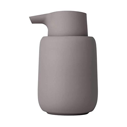 Blomus SONO Seifenspender in edler Optik, Seifendosierer aus Keramik