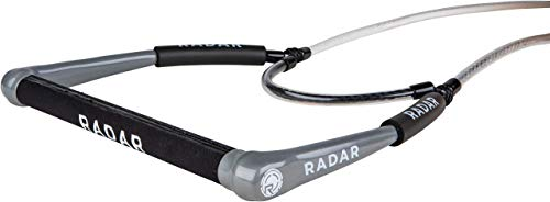 "Radar Deep V 15"" Diamond Grip Waterski Handle - Silver/White"