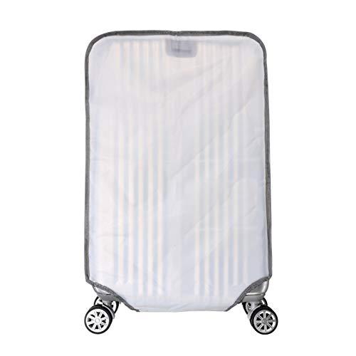 keepmore Protezione della copertura della valigia, Trasparente PVC Protezione bagagli Impermeabile Antipolvere Trolley Custodia protettiva Adatta per 20-30 Pollici Bagaglio (Senza valigia)