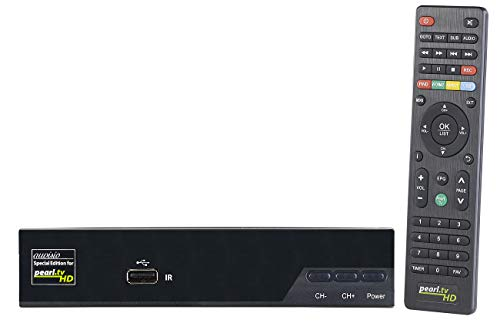 auvisio Satelliten Receiver: Digitaler Pearl.tv HD-Sat-Receiver (DVB-S/S2), HDMI, Scart, Coax (Sat Receiver mit Mediaplayer)