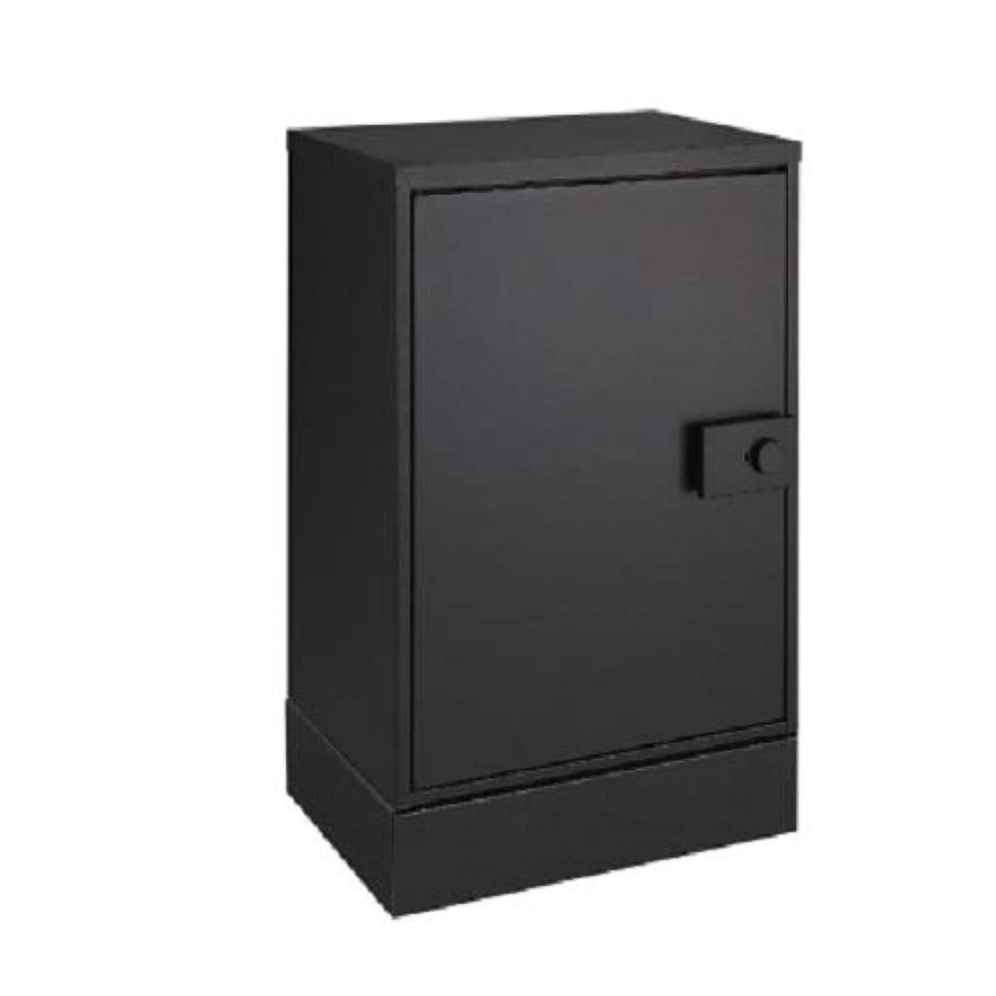 ルネッサンス忠実ブラケットLIXIL(リクシル) 宅配ボックス KT スタンダード 左開き 据置用ベースセット ブラック 8KCD04BK+8KCD06BK