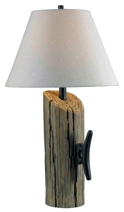 Kenroy Home 32055WDG Cole Table Lamp