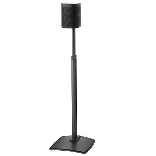 Sanus höhenverstellbar Kabelloser Lautsprecher Ständer für Sonos One Play: 1und Play: 3–schwarz