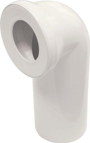 Sanitop-Wingenroth 21642 5 Anschlussbogen für Stand WC | Pergamon | 90 Grad | WC, Toilette