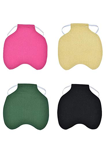 Single Strap Chicken Apron/Saddle, Standard Chicken Saddle Hen Apron Feather Fixer Wing Back Protector for Poultry(Protect Back and Wing) Sturdy(4 pcs)