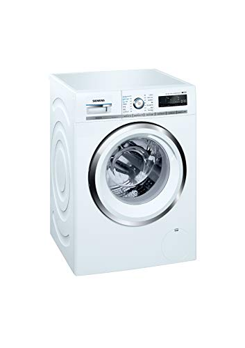 Siemens 9 kg Inverter Fully-Automatic Front Loading Washing Machine (WM14W790IN, White)