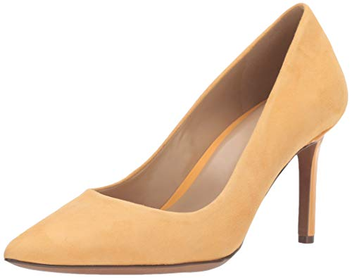 Naturalizer Women's Anna Pumps, Tuscan Yellow Suede,9 N US