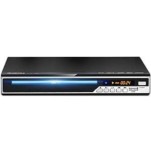 Gueray Reproductor DVD HDMI para Televisión Portátil Reproductor de DVD de Toda la región con resolución HD 1080P con USB Mic Puerto y Control Remoto (No es Compatible con BLU-Ray Disc)