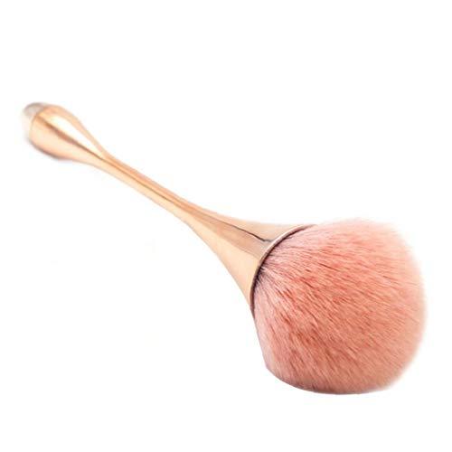 1pc Maquillage Synthétique Pinceau Poudre Goutte D' Maquillage Fondation En Forme De Brosse Professionnelle Doux Visage Fondation Pinceau Poudre Outil De Beauté