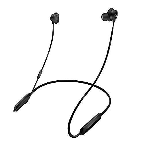 inOpera Bluetooth Headphones Neckband, Wireless Sweatproof apt-X Deep Stereo Bass Bluetooth Sport Earbuds IPX5 Magnetic Earphones CVC6.0 Noise Cancellation 10 Hours Playtime (Black
