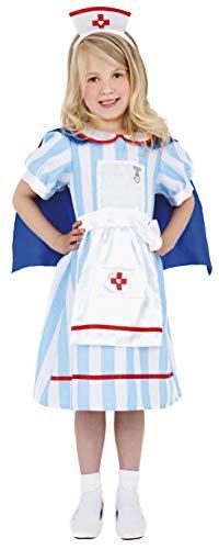 Smiffy's - Disfraz de enfermera para niña, talla S (38646S)
