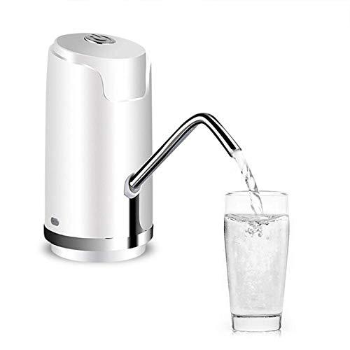 Chengzuoqing Dispensador de agua para botellas, soporte para bomba de agua potable, portátil, dispositivo de suministro de agua automático para casa, cocina, oficina