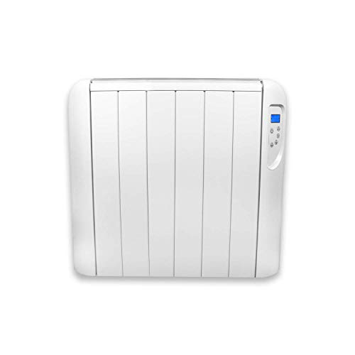 FUTURA Eco Panel Heater 24 Hour 7 Day Timer 1000W – 2000W Wall Mounted Lot 20 Low Energy Electric Heater for home Slimline Electric Radiator Efficient Convector Heater Digital thermostat (1500W)