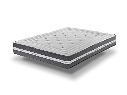 Colchón de Alta Gamade 27 cmcon viscoelástica 135X180 - Ergonómico   Certificado Sanitized® y Oeko-Tex®