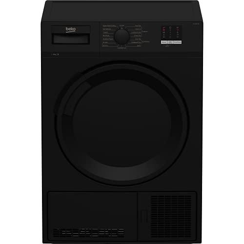 Beko DTLCE80051B Freestanding 8kg Condenser Tumble Dryer - Black